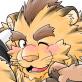 [べあている] の【熊あまマジ虎】