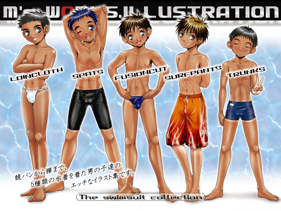 [M's WORKS.] の【M's WORKS.ILLUSTRATION The swimsuit collection】