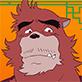 『楽しい大人の熊徹とゆかいな仲間たちぬりえ』