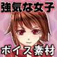 ゲーム向け汎用ボイス素材:強気な女子編【サマーフェスタ201