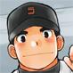 [ひげ大福] の【純朴野球少年】