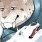 寒がりのシロクマ