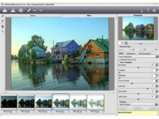 AKVIS HDRFactory Home v.5.6 プラグイン【shareEDGEプロジェクト】の紹介画像