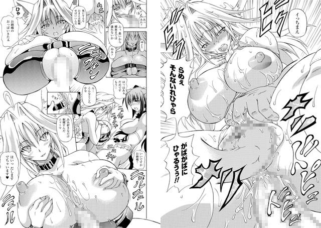 【巨乳】狩乳遊戯の棚からエロ漫画4冊