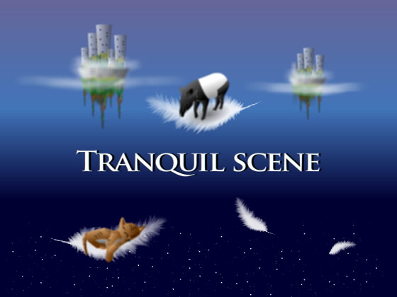 TRANQUIL SCENE Stars are collectedの紹介画像
