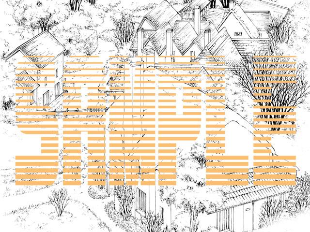 [有楽舎工房] の【マンガ背景素材集「You楽Luck」Vol.2「古城+α」】