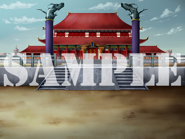 [LI project] の【LI 背景素材集 01(中華)】