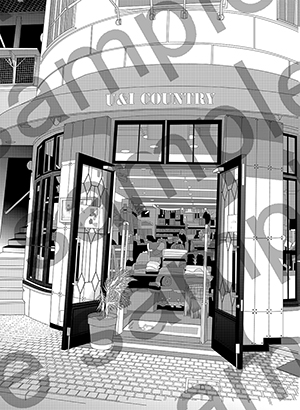 [Ateliera アトリア] の【アトリア漫画背景素材集21点おまとめパック】