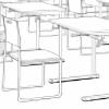 漫画用背景 教室編 2