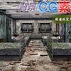 [キュキュキュのQのQ] の【著作権フリー背景CG素材「廃墟の病室大部屋」】
