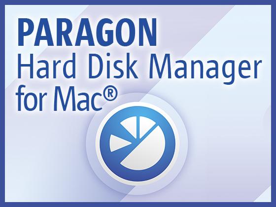 Paragon Hard Disk Manager for Mac 【パラゴンソフトウェア】の紹介画像