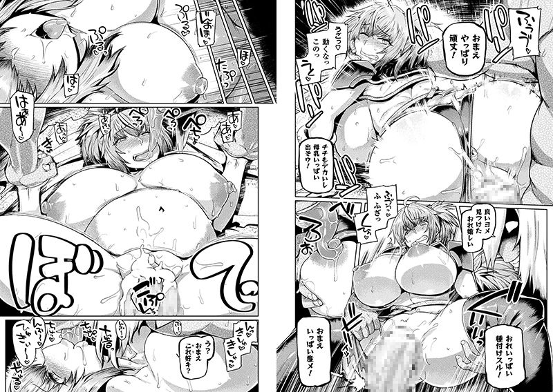戦鬼の嫁取り〜あるいは女戦士の安息〜【単話】