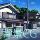 背景素材:住宅地1