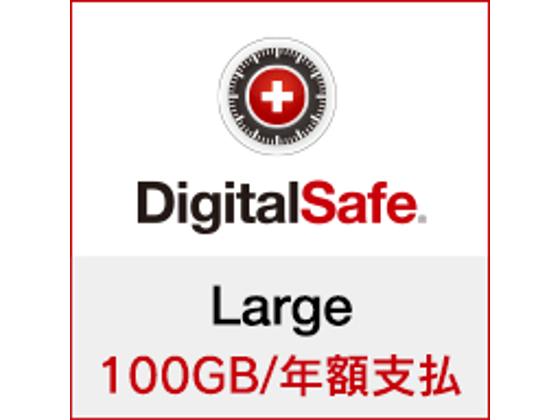 DigitalSafe(デジタルセーフ):Large (新規/更新) 100GB/年額支払の紹介画像