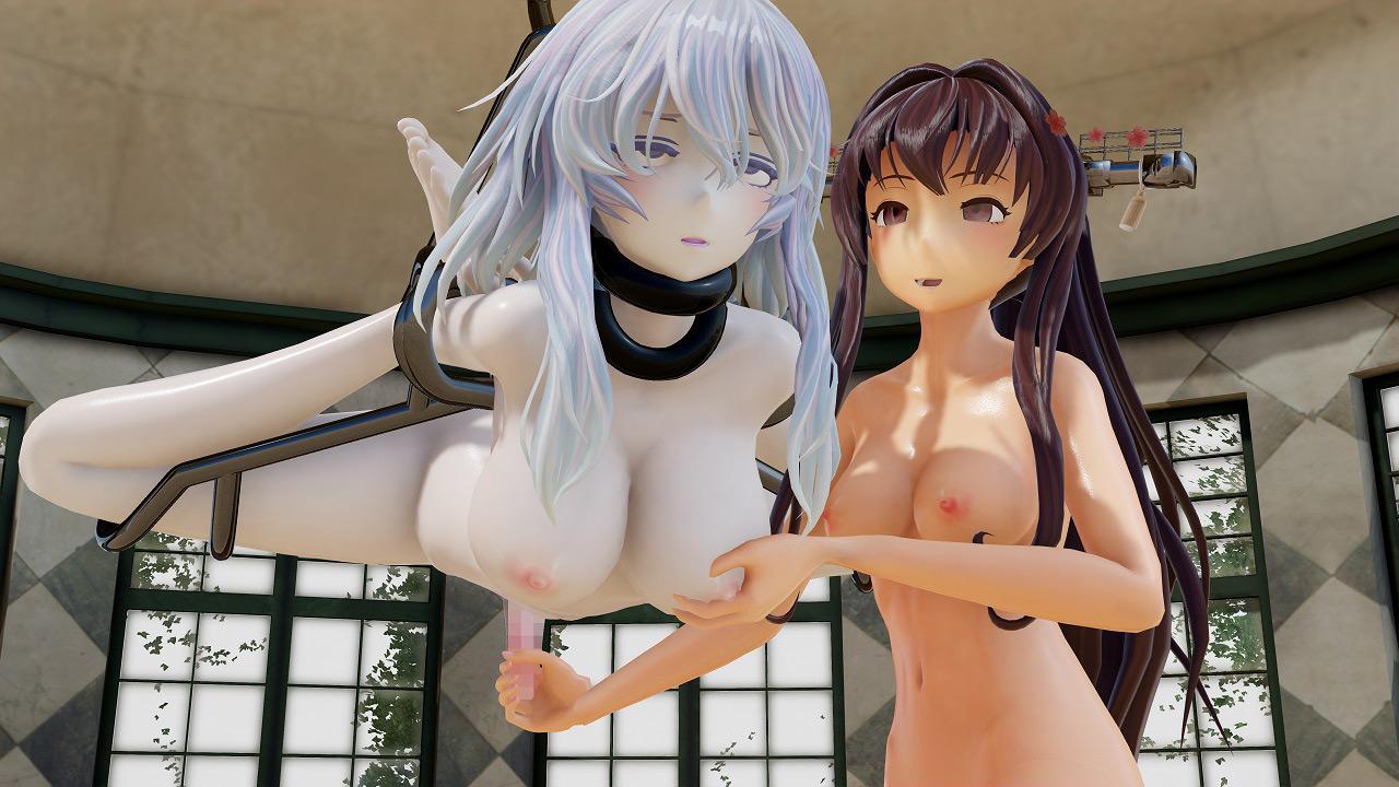 ヌける!ふたなりレズSEXムービー集vol.6大和×ヲ級のサンプル画像3