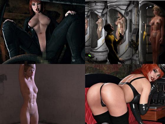 Sexy Women 3D Renderings 9のサンプル画像3