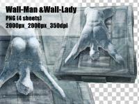 エネミー素材【Wall-Man & Wall -...