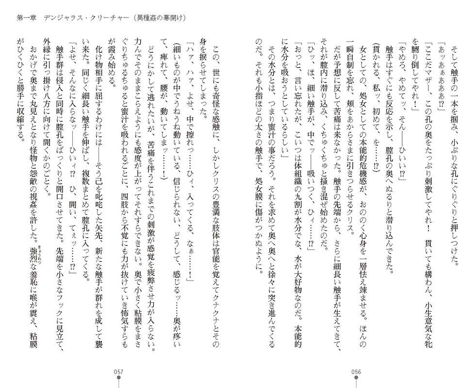 特務騎士クリス 〜エリート軍人異種交配録〜のサンプル画像13