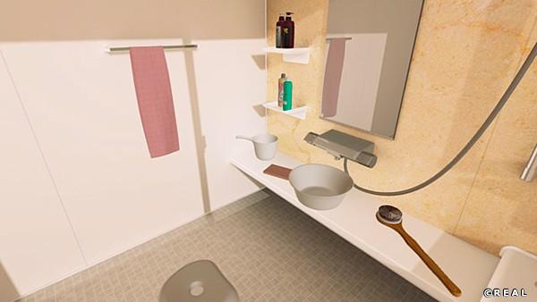 《DLC》いたずらVR お風呂コンテンツセットのサンプル画像