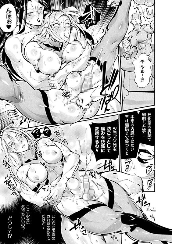 二次元コミックマガジン ふたなり微リョナ 雑魚メス勃起を破壊○辱Vol.1のサンプル画像