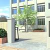 [2D背景]学校校門