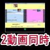 2動画同時再生ソフト『 2movies Player 』