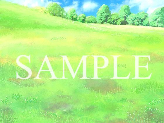 【2D背景】草原の紹介画像