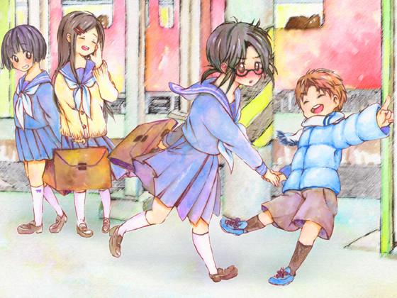 雲伯おでかけ姉弟1「つばめと彼と隼」の紹介画像