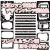 大正ロマン風和柄デザインパーツ素材集 フレーム&ライン編