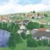 ヨーロッパの田舎風背景 20131123ba4C00003
